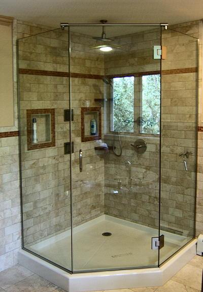 Neo Angle Frameless Shower Doors